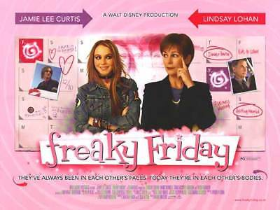 Freaky Friday Movie Poster - Lindsay Lohan Poster, Jamie Lee Curtis Poster