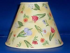 floral tulips iris flowers lamp shade lampshade ebay. Black Bedroom Furniture Sets. Home Design Ideas