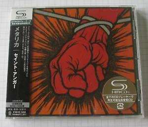METALLICA-St-Anger-JAPAN-SHM-CD-OBI-NEU-UICY-91080