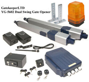 Dual Swing Automatic Electric Gate Opener Operator Ebay