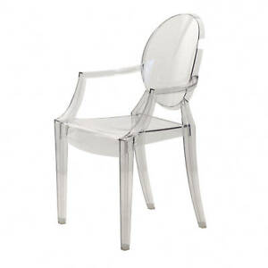 ... Kartell Louis Ghost Philippe Starck Glasklar Transparent Stuhl