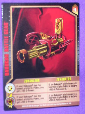 BAKUGAN Battle Gear ZUKANATOR  Card 4/4b