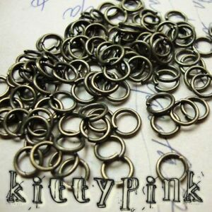 400-4mm-Antique-Gold-Jumprings-Open-Jump-Rings