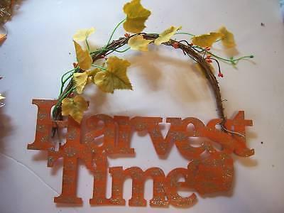 Metal Grapevine Harvest Time Autumn Decoration Hallowee