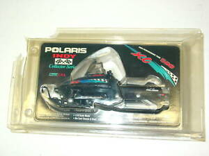 Mint-in-Box-Polaris-Collectors-1999-Indy-500-Snowmobile-XC-Die-Cast-1-16-Scale
