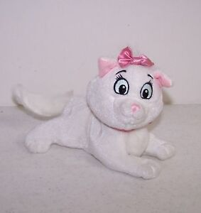 Bean-Plush-6-034-Disney-Mattel-Star-Bean-Marie-The-Cat