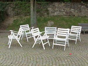 Sei sedie pieghevoli in legno reguitti italia anni 39 50 ebay - Reguitti mobili ...