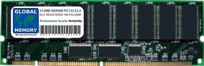 133mhz Ecc Registered 168 Pin (512MB PC133 133MHz 168-PIN ECC REGISTERED RDIMM OSHIBA SERVER/WORKSTATION RAM )