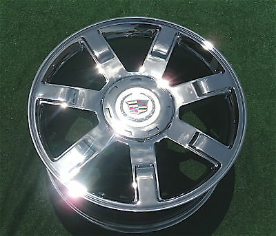 1 new 2009 cadillac escalade chrome 22 inch wheel factory specification 5309 ebay. Black Bedroom Furniture Sets. Home Design Ideas