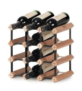 Genuine 12 Bottles Monterey Timber Wine Rack Storage Cellar Kit NEW