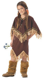 Indian Princess Wildflower Native American Kids Costume