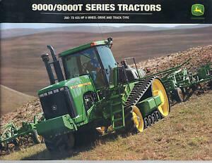 John Deere 9000 9000T Series Tractors Sale Brochure | eBay