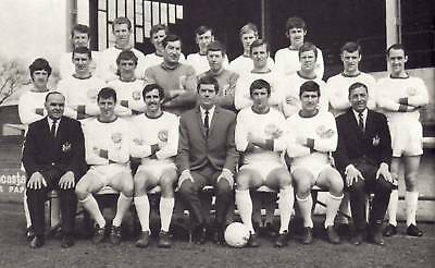 DONCASTER ROVERS FOOTBALL TEAM PHOTO 1968-69 SEASON