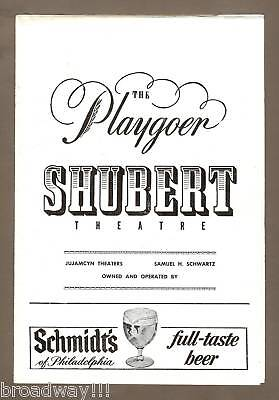 """Anthony Newley """"STOP THE WORLD"""" Leslie Bricusse '62 Philadelphia Tryout Playbill"""