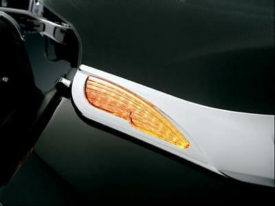 Gl1800 Goldwing Windshield Chrome Trim With Turn Signal Accent Lights
