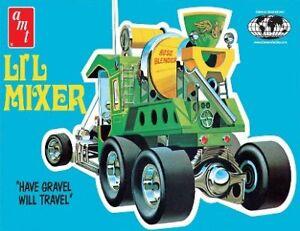 Amt-38558-1-25-Lil-Mixer-Custom-Cement-Truck-mint