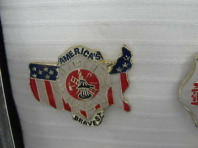 Lapel Pins - Firefighter America's Bravest