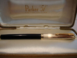 PARKER-51-SPECIAL-EDITION-EMPIRE-STATE-FOUNTAIN-PEN-NEW-MEDIUM-POINT-NEW-IN-BOX