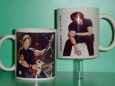 KEITH URBAN - with 2 Photos - Designer Collectible GIFT Mug 05