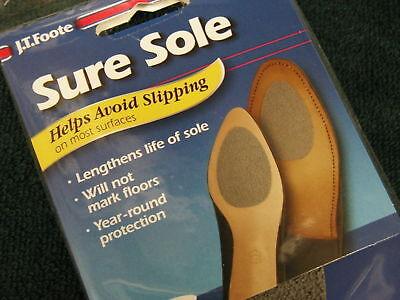 Sure Sole Non Skid Pads Shoe Soles Ground Grip 3 Pair