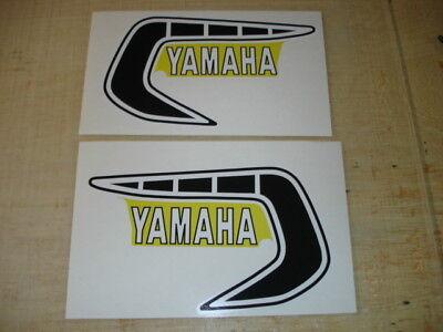 1981 Yamaha Yz250/465 Gas Tank Decal Set. Ahrma