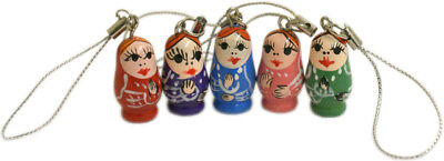 Russian Doll Mobile Phone / Handbag Charm