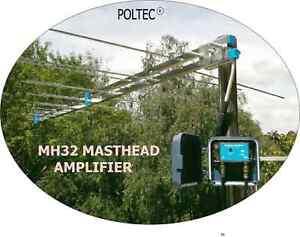 TV ANTENNA BOOSTER 12v DC  -Masthead Amplifier /Power supply BEST PRICE !