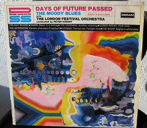 MOODY BLUES lp DAYS OF FUTURE PAST ORIGINAL GERMAN 1967