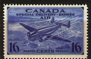 Canada-1942-ScCE1-Mi233-1v-mnh-SPECIAL-DELIVERY-STAMP