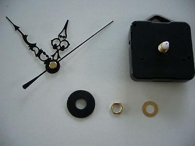CLOCK-MOVEMENT-QUARTZ-MEDIUM-SPINDLE-76mm-BLACK-HANDS