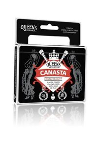 NEW Canasta Queen's Slipper Double Playing Cards 2 Decks Bridge Size points rule