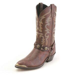 Laredo-Maverick-J-Toe-Leather-Western-Cowboy-Boots-7-13