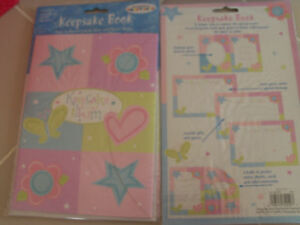 details about keepsake book bridal baby shower guest gifts photos new