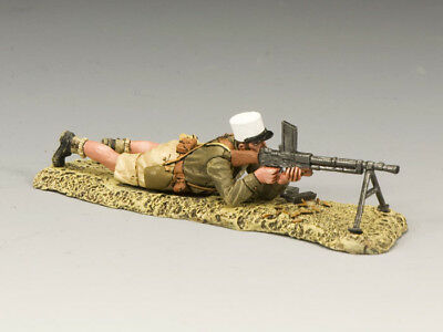 King And Country Legionnaire Lying Machine Gun Ea055 Ea55