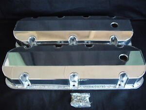 VALVE COVERS FABRICATED ALUMINIUM BIG BLOCK CHEV