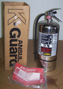 Ansul K Guard K01 2 Fire Extinguisher