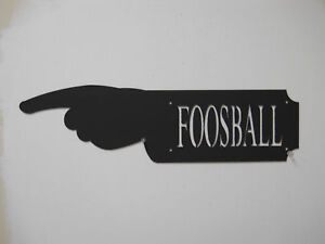 FOOSBALL-HAND-SIGN-GAME-ROOM-MAN-CAVE-TABLE