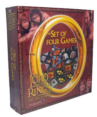 Herr der Ringe - 4 Spiele Set mit Bonus Poster Betexa 4+ - Neu