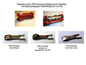 Trix Express Schleifer Reparatur Hartlöten AF 320 DF