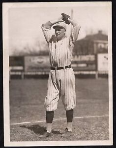 1921-ROSY-RYAN-NY-Giants-Baseball-Type-1-Press-Photo