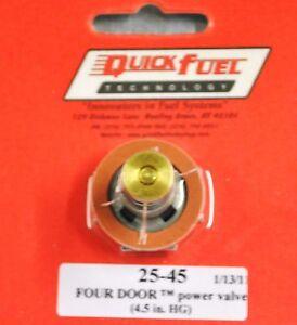 Quick-Fuel-Holley-Carb-Carburetor-Power-Valve-3-0-Four-Door