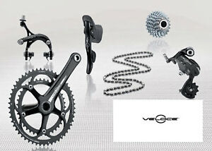 Campagnolo-Veloce-10-Speed-Road-Bike-Groupset-Black