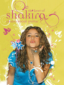 SHAKIRA THE BEST OF PVG BOOK NEW RELIABLE STORE 50% OFF