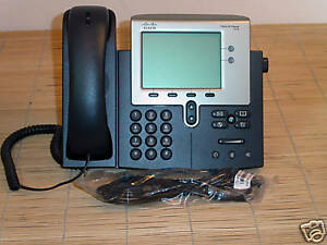 Cisco CP-7942G CP-7942 Unified IP Phone VoIP Telefon
