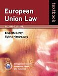 European-Union-Law-Textbook-Hargreaves-Sylvia-Deards-Elspeth-Very-Good-Book