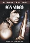 Rambo Trilogy (DVD, 2004, 3-Disc Set, Ultimate Collectore Edition)