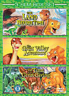 The Land Before Time/The Land Before Time - The Great Valley Adventure/The Land Before Time - The Time Of The Great Giving (DVD, 2009, 3-Disc Set, Box Set)
