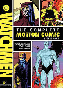 Watchmen - Motion Comics (Blu-ray Disc, ...