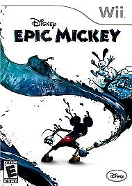 Disney-Epic-Mickey-Nintendo-Wii-2010-FREE-SHIPPING