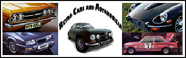 Retro Car Posters and Automobilia